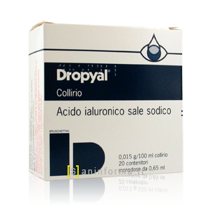 Dropyal 0,015 g/100 ml Collirio