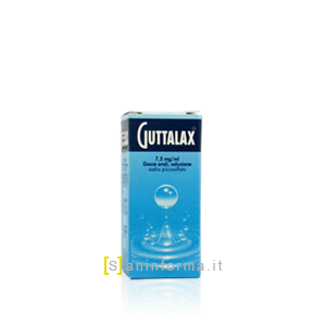 Guttalax 7,5mg/ml gocce