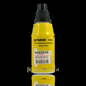 Betadine 10% soluzione disinfettante (Gialla)