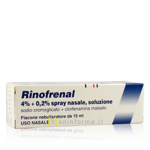 Rinofrenal 4% + 0,2% Spray Nasale Soluzione