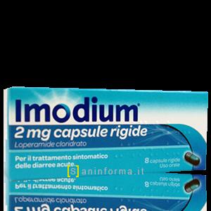 Imodium capsule da 2 mg