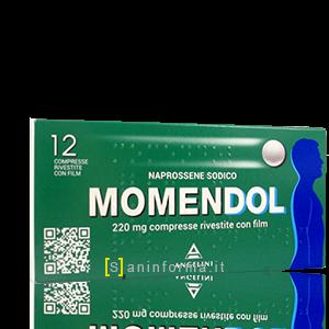 Momendol compresse rivestite mg.220