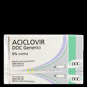 Aciclovir DOC Generici 5% Crema