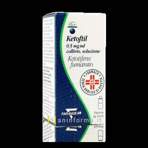 Ketofil 0,5 mg/ml Collirio Soluzione