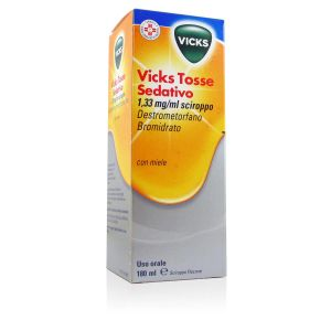 Vicks Tosse Sedativo 1,33 mg/ml Sciroppo