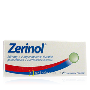 Zerinol 300mg + 2mg compresse rivestite