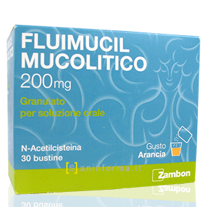Fluimucil mucolitico bustine 200 mg