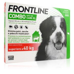 Frontline Combo Spot-On Cani XL