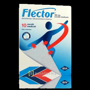 Flector 180 Mg 10 Cerotti Medicati