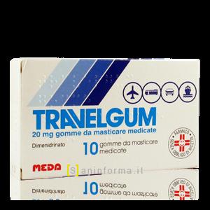 Travelgum gomme da masticare medicate