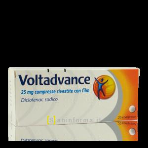 Voltadvance 25 mg Compresse Rivestite