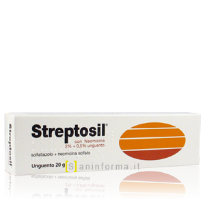 Streptosil con Neomicina pomata