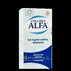 Collirio Alfa  0,8mg/ml