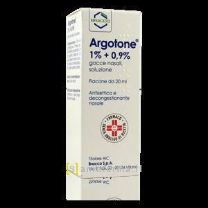Argotone 1% + 0,9% Gocce Nasali, Soluzione