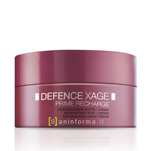Defence Xage Prime Recharge Crema Notte Ridensificante