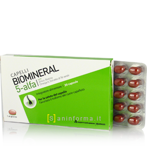 Biomineral 5 alfa Integratore