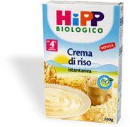 Hipp Biologico Crema di Riso