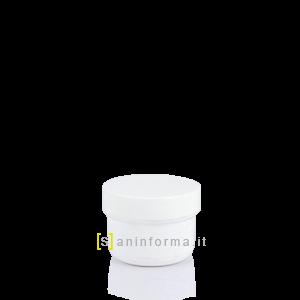 Vasetto Bianco Tappo a vite cc 30