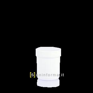 Vasetto Bianco Tappo a vite cc 50