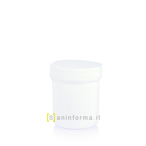 Vasetto Bianco Tappo a vite cc 150