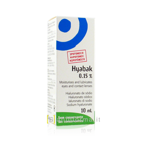Hyabak 0,15% Soluzione