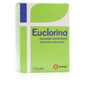 Euclorina Fazzoletti Disinfettanti Clorexidina Gluconato