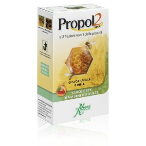 Aboca Propol2 EMF Tavolette Bimbi Fragola Miele
