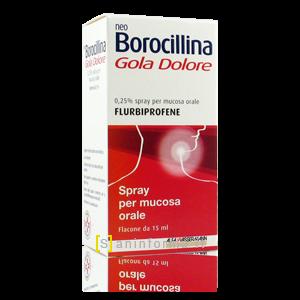 Neo Borocillina Gola-Dolore 0,25% spray