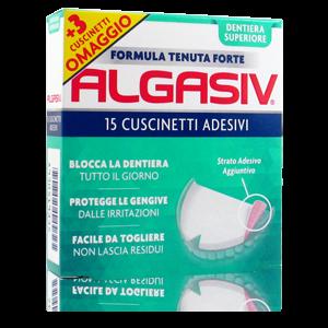 Algasiv Cuscinetti Adesivi Dentiera Superiore