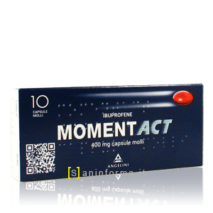 Momentact mg400 Capsule Molli
