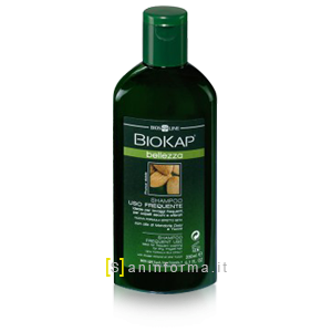 BioKap Shampoo Uso Frequente all'Olio di Mandorle