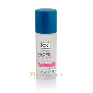 Roc Keops Sensitive Deodorante Roll-on 48 H