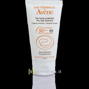 Avene Crema Solare Schermo Minerale SPF50+