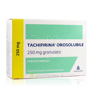 Tachipirina Orosolubile 250 mg Granulato