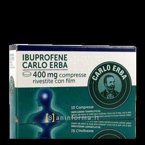 Ibuprofene Carlo Erba 400 mg