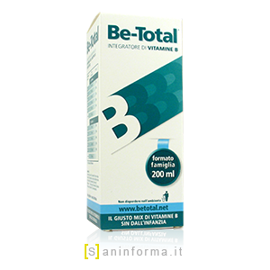 Be-Total Integratore di Vitamine B Sciroppo