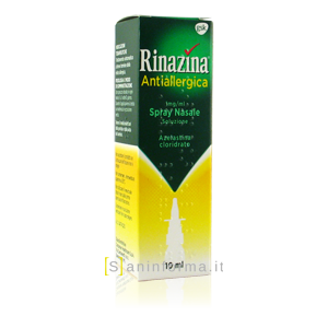 Rinazina Antiallergica Spray Nasale 1mg/ml