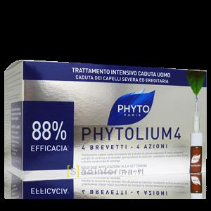 PhytoLium 4 Trattamento Caduta Uomo 1 Mese