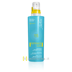 Bionike Defence Sun Latte Solare Spray SPF15