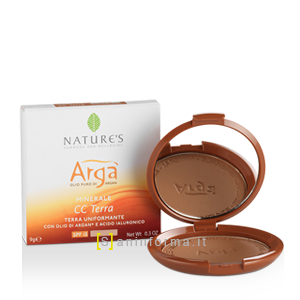 Nature's Arga' CC Terra Uniformante SPF15 Sahara