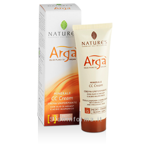 Nature's Arga' CC Crema Uniformante SPF15 Medio Chiaro