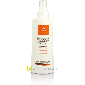 Idisole Bimbo Latte Spray Doposole Anti-Zanzare