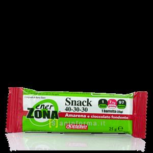 EnerZona Snack 40-30-30 Amarena e Cioccolato Fondente
