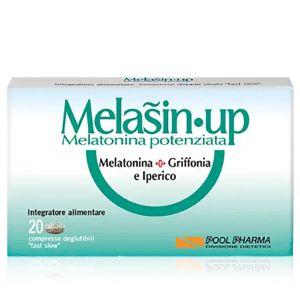 Melasin Up Melatonina Potenziata Integratore 20 Compresse
