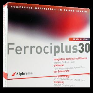 Ferrociplus 30 Integratore
