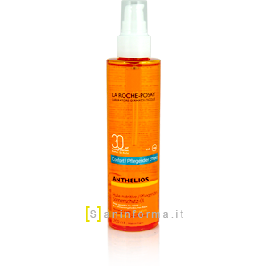 Anthelios Olio Nutriente Invisibile Comfort Spf30