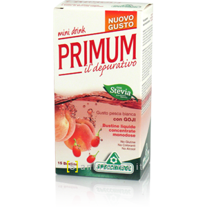 Primum Depurativo Mini Drink Pesca