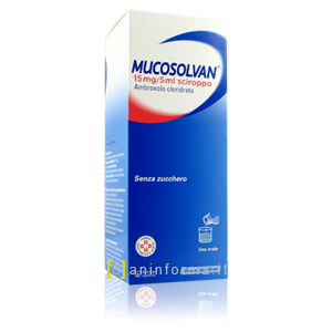 Mucosolvan sciroppo 15mg/5ml