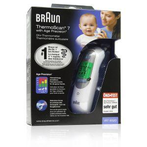 Braun Termometro Auricolare ThermoScan 7 con Age Precision IRT6520