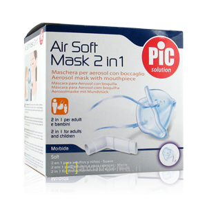 Air Soft Mask 2 in 1 Pic